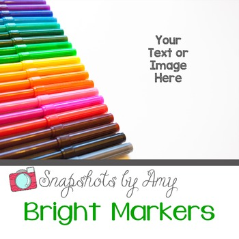 Photo: Bright Markers