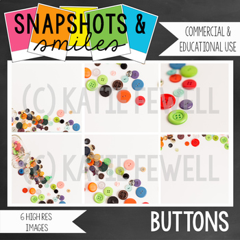Photo: Buttons: 6 high res images