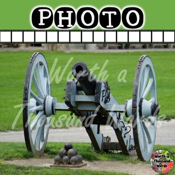 Photo: Cannon and Cannon Balls