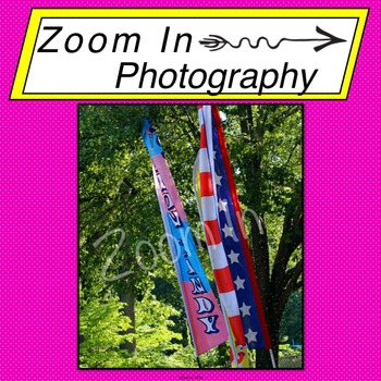 Stock Photo: Carnival Flags