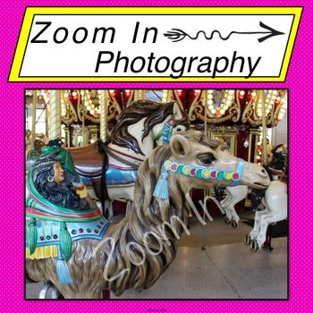 Stock Photo: Carousel Camel