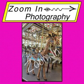 Stock Photo: Carousel Giraffe