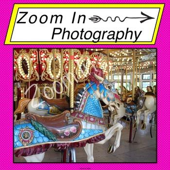 Stock Photo: Carousel Horse (c)