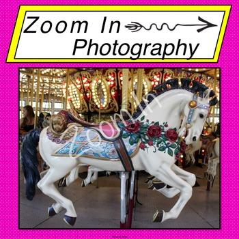 Stock Photo: Carousel Horse (f)