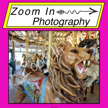Stock Photo: Carousel Lion (a)