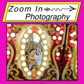 Stock Photo: Carousel Mirror