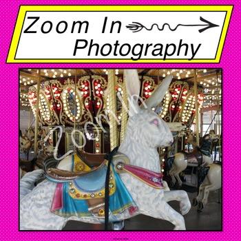 Stock Photo: Carousel Rabbit