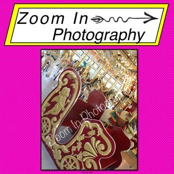 Stock Photo: Carousel Sleigh