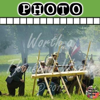 Photo: Civil War - Battle
