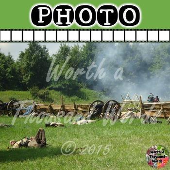 Photo: Civil War - Battlefield
