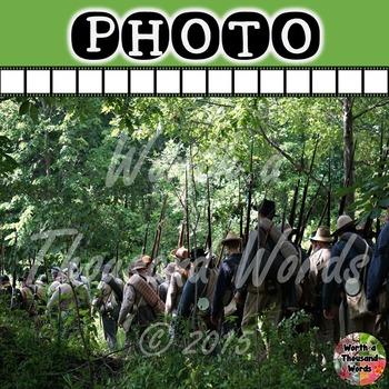 Photo: Civil War - Confederate Soldiers
