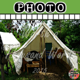 Photo: Civil War - Tent