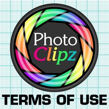 Photo Clipz Clip Art {Logo & Terms of Use for Teacher-Authors & Teachers}