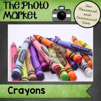 Photo: Crayons