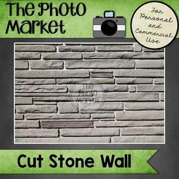 Photo: Cut Stone Wall
