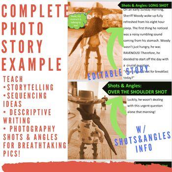 Photo Essay Assignment and Example *No Prep- Time Saver*