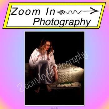 Stock Photo: Fairy Tale The Princess and the Pea (a)