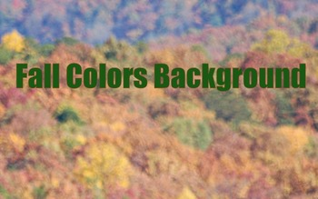 Photo : Fall Colors Backgrounds - Digital Paper