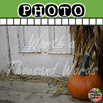 Photo: Fall Pumpkin Background (For Ads or Social Media)