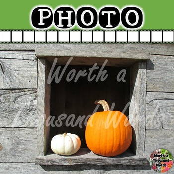 Photo: Autumn Pumpkins in Window