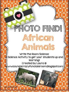 Photo Find!  African Animals