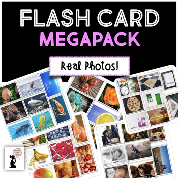 Flash Cards Megapack - Real Photos BUNDLE!