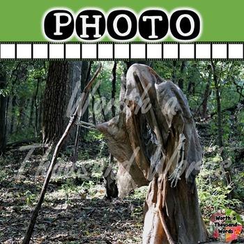 Photo: Halloween -  Skeleton with Walking Stick