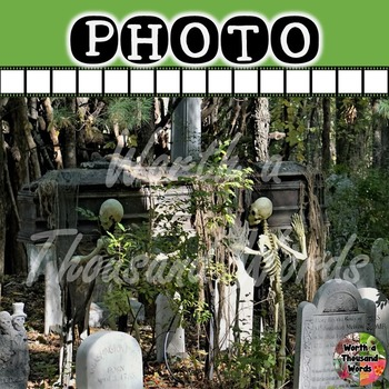 Photo: Halloween - Skeletons with Casket