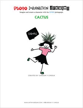 Photo Imagination Drawing - Cactus