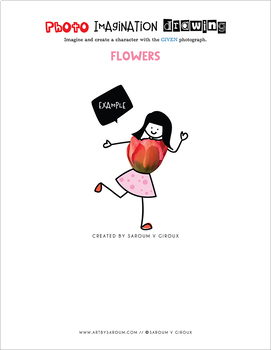 Photo Imagination Drawing - Flowers