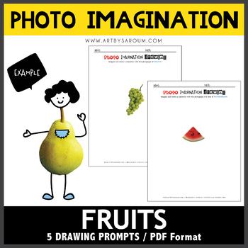 Photo Imagination Drawing - Fruits