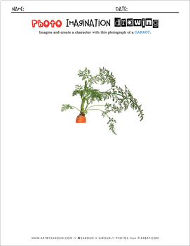 Photo Imagination Drawing - Veggies