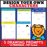 Design Your Own Characters Drawing Prompts