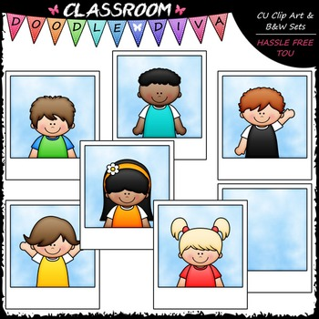 Photo Kids Clip Art - School Photos Clip Art