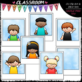 Photo Kids - Clip Art & B&W Set