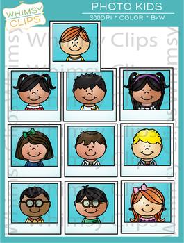 Photo Kids Clip Art