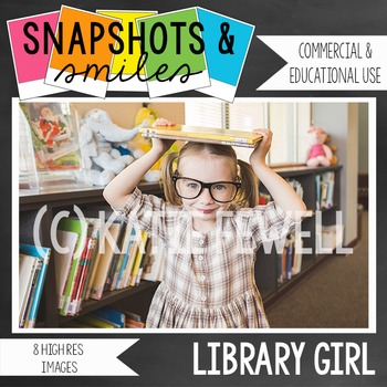 Photo: Library: Girl: Reading
