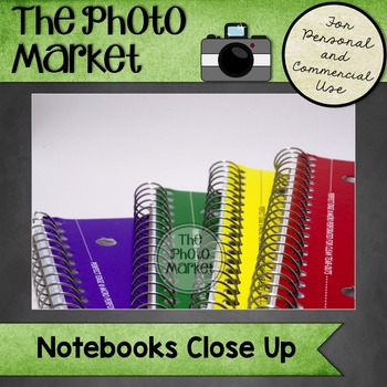 Photo: Notebooks Close Up