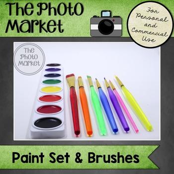 Photo: Paint Set and Brushes