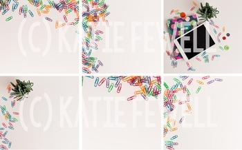 Photo: Paperclips: 7 image bundle