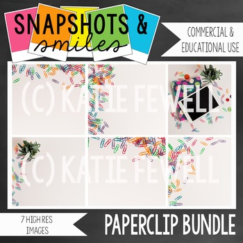 Photo: Paperclips: 7 image bundle
