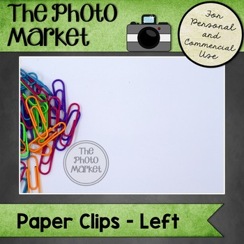 Photo: Paperclips on Left