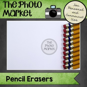 Photo: Pencil Erasers