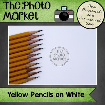 Photo: Pencils on White