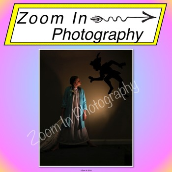 Stock Photo: Fairy Tale Peter Pan and Wendy