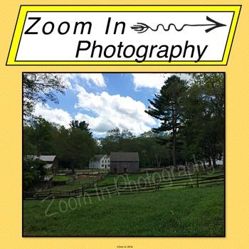Stock Photo: Pioneer Revolutionary War Period Farm (c)