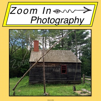 Stock Photo: Pioneer Revolutionary War Period House and Well