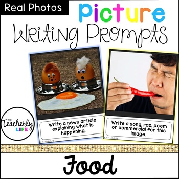Picture Photo Writing Prompts - Food