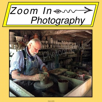Stock Photo: Pioneer Potter
