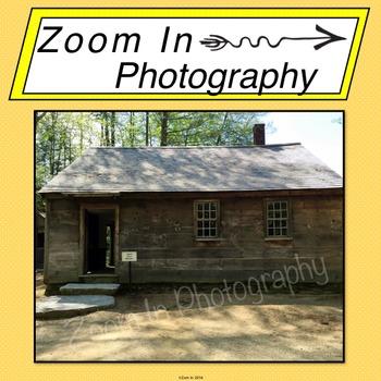 Stock Photo: Pioneer Schoolhouse (b)